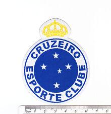 Brazil Cruzeiro soccer football club iron-on embroidered patch emblem badges