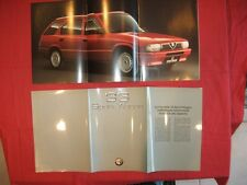 N°4008  / ALFA-ROMEO : catalogue Sport Wagon 33   aout 1992