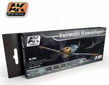 AK Interactive AKI 2001- Air Series Luftwaffa Camouflages Acrylic Paint Set