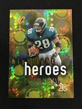 "FRED TAYLOR INSERT ""HIGHLIGHT HEROES"" SPX 2000 JACKSONVILLE FOOTBALL CARD"