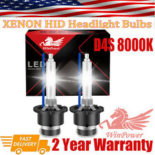New 2x D4S 35W 8000K HID Xenon Headlight Bulbs Lamp Replace Fits Philips Toyota
