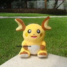 "Nintendo Pokemon Go Plush Toy Raichu 7.5"" Cute Stuffed Animal Soft Doll Pikachu"