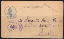 1938.- CARTA CON SOBRE CIRCULADO