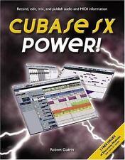 Cubase SX Power by Robert Guerin (2002, Paperback)