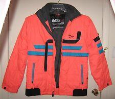 New Mens HTF 686 Winter Ski Snowboard Orange Microporous Jacket Coating Coat L