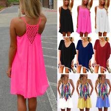 cbe451ce5b Women Beach Dress Bikini Cover Up Kaftan Holiday Long Tops Dress Bathing  Suit O6