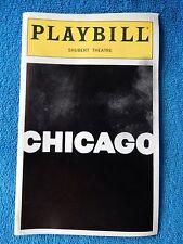 Chicago - Sam S. Shubert Theatre Playbill - January 1999 - Karen Ziemba