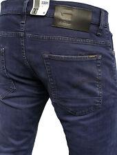G-Star 3301 Slim Brittany Blue Herren Jeans- Hose. Verschiedene Größen, Neu