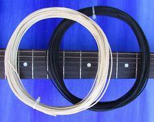 GAVITT tinned Cloth Push Back Guitar Wire 22 awg - 100 FEET 50 BLACK + 50 WHITE