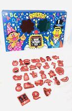 Vintage Colorforms Sesame Street Magic Alphabet Set Pre School Activity Set
