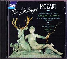 THE LINDSAYS MOZART Horn Oboe String Quartet The Hunt LINDSAY CD Streichquartett