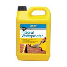 Everbuild 202 integral liquide produit imperméabilisant 25L additif de protection de l'eau 25LTR