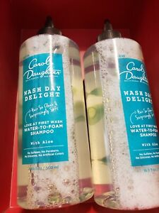 Carol's Daughter Wash Day Delight Shampoo ~ 16.9oz EA LOT OF 2