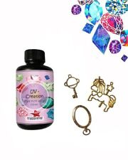 Resina UV-Creation da 100ml per creazione, bijoux, Fai da Te, e decorazioni nata
