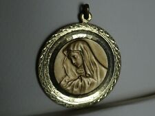 Large Medaille Maria Gold Colour MR 431