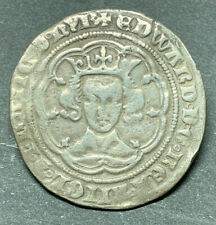 More details for king edward iii 1327-77 4th coinage pre-treaty groat london series e s.1567