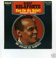 45 RPM SP OST HARRY BELAFONTE COCOANUT WOMAN (UNE ILE AU SOLEIL)
