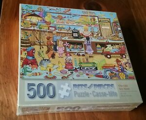 500 Piece/Bits and Pieces puzzle - The Old Toy Store - Brand New-clear wrapped