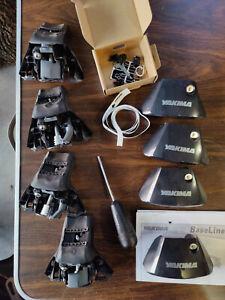 Yakima Baseline Towers x4 with SKS locking cores and yakima tightening tool/tape
