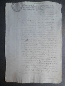 MANUSCRITO AÑO 1666 FISCAL 4º MEDINA DEL CAMPO VALLADOLID NOTIFICACIÓN
