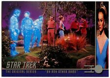"""""""By Any Other Name"""" #151 Star Trek Original Series 2 Sky Box Trade Card (C839)"""