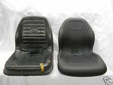 BLACK SEAT 675,675B,4475,5575,6675,7775,8875 CT315,JOHN DEERE SKID STEER #BB