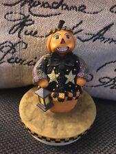 Our America Halloween Pumpkin Boy Fall Yankee Candle Topper