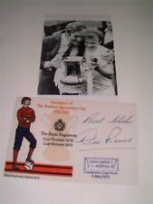 LEEDS UNITED FC 1972 FA CUP FINAL DON REVIE SIGNED (PRE-PRINTED) PHOTOGRAPHS