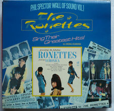 THE RONETTES - Phil Spector wall of sound Vol. 1 - UK-LP