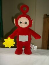 "Teletubbies Dancing & Singing PO Holding Yellow Flower Soft Toy 14"" Interactive"