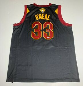 Shaquille O'Neal Signed Cleveland Cavaliers Jersey PSA 9A24322 Shaq Autographed