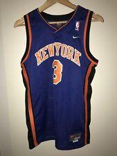 New York Knicks NBA Shirt Jersey #3 Stephon Marbury - Large - Like New