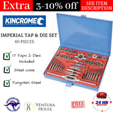 KINCROME K12022 Imperial Tap and Die Set - 40 Piece