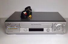 "SONY SLV-EZ131 LONG PLAY RECORD VHS VCR VIDEO,NTSC PLAYBACK ""NO REMOTE CONTROL"""