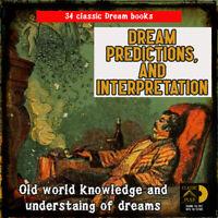 Dream Book Collection - Prediction, interpretation and understanding 34 book set