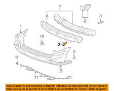 GM OEM Rear Bumper-Bumper Cover Bracket 10306162