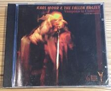 Karl Mohr & The Fallen Angels - Vampires In Clubland - RARE VGC CD Black Disc
