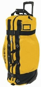 Club Glove Rolling Duffle 2 -END OF THE LINE - Sun Gold - Black Webbing