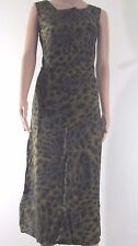 MONALISA Green Long Summer Pencil Casual wear to work dress Sz 46 NEW