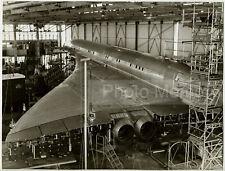 Concorde 001 en essais de vibrations, Sud-Aviation - Photo vintage 1967