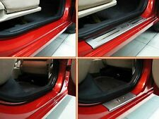 For KIA RIO 2007 2008 2009 2010 2011 2012 Stainless Scuff Plate Door Entry Sill