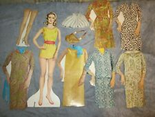 """vintage 14"""" bewitched paper doll and  fashions"""