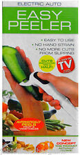 Electric Auto Easy Peeler - Easy, Automatically Peels - Halfs Preparation Time!