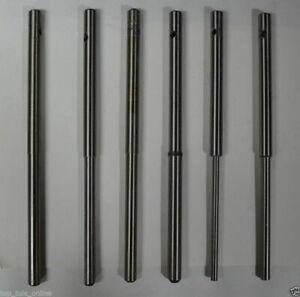 "VALVE GUIDE PILOTS SET .375"" TOP 4.5,5,5.5,6,7,8 High Carbon Steel Hard"