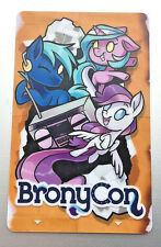 OFFICIAL 2017 Baltimore Bronycon Room Key My Little Pony Friendship Is Magic