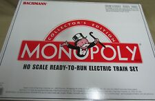 Bachmann Collector's Edition Monopoly: HO Scale Ready-to-Run Electric Train Set