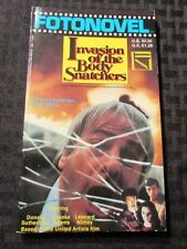 1979 INVASION OF THE BODY SNATCHERS FotoNovel Paperback 1st NM