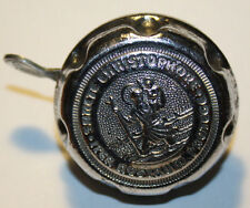 SAINT CHRISTOPHER ITER NOSTRUM PROTEGE Vintage Bicycle Bell made in Germany