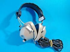 Vintage soviet stereo headphones TDS-101. Works