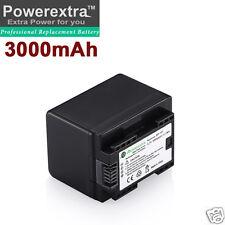Decoded 3000mAh BP-727 Battery for Canon VIXIA HF R300 R400 R500 R600 R62 BP-718